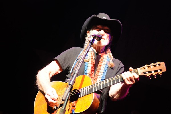 Willie Nelson at ACL Live at the Moody Theater, Austin, Texas 12/30/2011