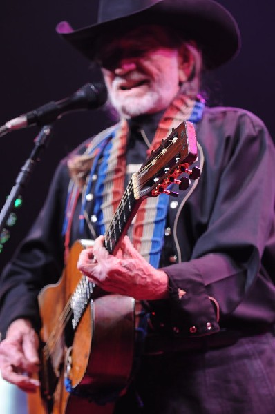 Willie Nelson at ACL Live at the Moody Theater, Austin, Texas 12/31/2011
