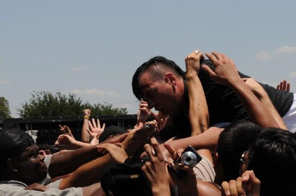 Anti Flag at Warped Festival, San Antonio, Texas
