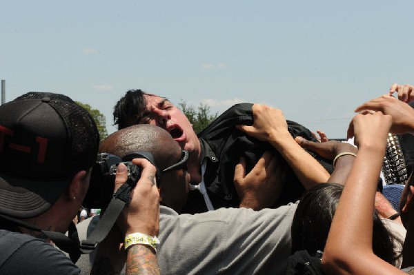 Anti Flag at Warped Festival, San Antonio, Texas