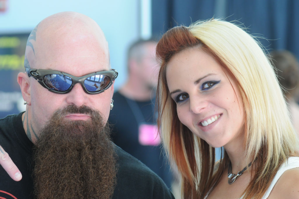 Kerry King of Slayer and Avery Allen of Austin's Applicators