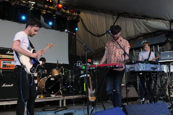 Glasgow band Errors at Stubb's BarBQ, Austin, Texas 05/16/11