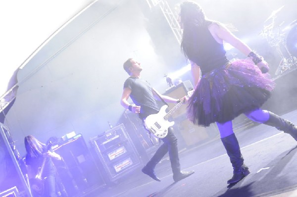 Evanescence at Stubb's BarBQ, Austin, Texas 04/17/12