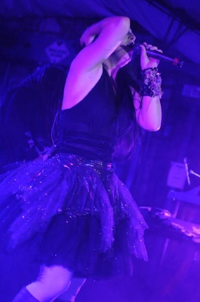 Evanescence at Stubb's BarBQ, Austin, Texas 04/17/12