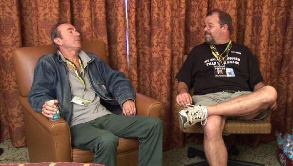 Me & Hugh Cornwell at SXSW07