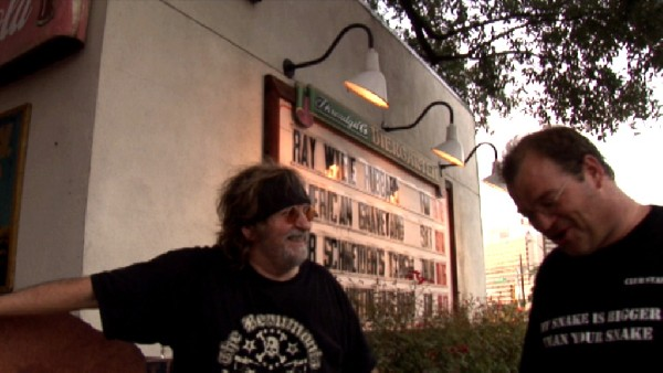 Me & Ray Wylie Hubbard at Threadgill's