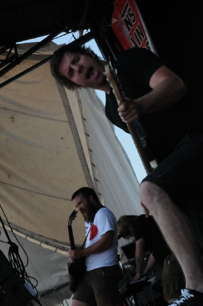 Underoath at Warped Festival, San Antonio, Texas